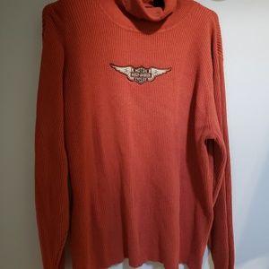 Harley Davidson turtleneck sweater